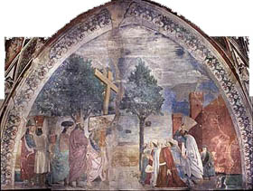 Il restauro degli affreschi di Piero della Francesca ad Arezzo