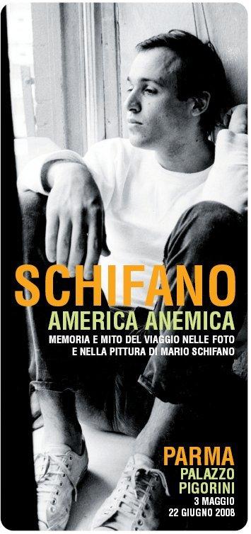 Mario Schifano America Anemica La Mostra Comprende 14